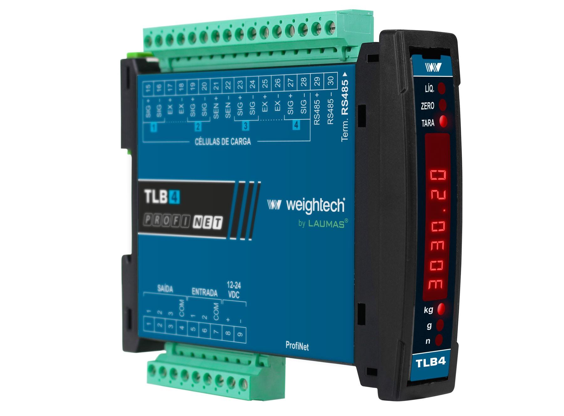 Transmissor de Peso TLB4 PROFINET IO