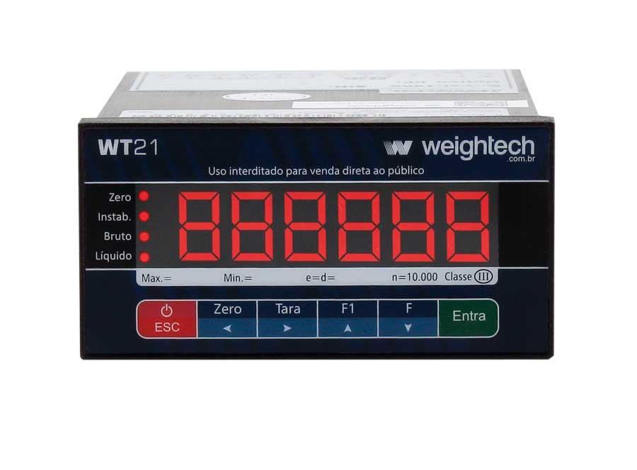 Indicador de pesagemWT21-PAINEL