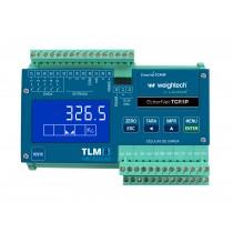 Transmissor de Pesagem Laumas TLM8 EtherNet TCP IP
