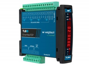 Transmissor de Peso TLB4 EtherNet TCP IP